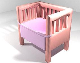 Bed - Bassinet 3D