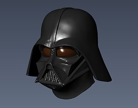 Darth Vader fullscale mask 3D printable model