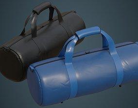 3D asset VR / AR ready Gym Bag 1A
