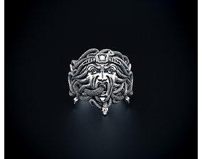 3D print model Gorgon ring
