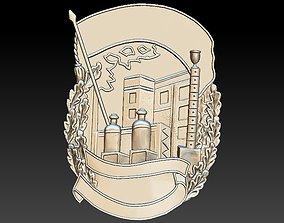 Badge Factory Building City castle 3D printable model