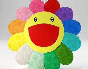 fun Flower pillow 3D