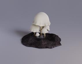 3D model White Fantasy Mushroom