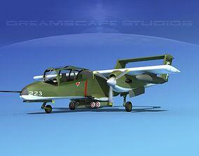 Rockwell OV-10 Bronco USMC 2 3D
