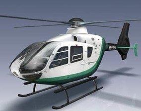 Eurocopter EC 135 3D model VR / AR ready