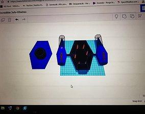 fully 3d printed rov underwater