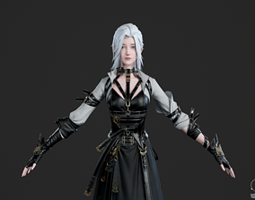 3D model Chinese 9