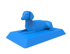 Dachshund 3D Print ready Model
