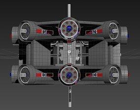 Inverted 16 Cylindrical Radial 3 Phase Motor - 3D model