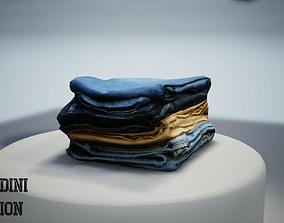 Jeans Photoscanned MF 3D asset