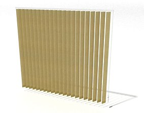 wooden window shutter 007 AM60 3D