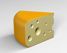 Cheese Yellow 3D
