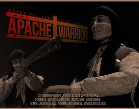 Apache Warrior 3D model game-ready