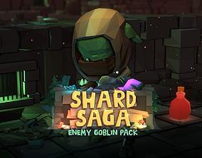 Shard Saga Enemy Goblin Pack 3D asset