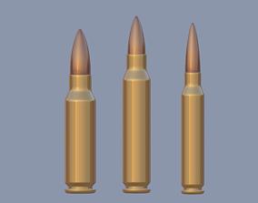 speed Bullet 3D model realtime