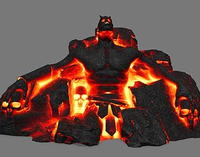 3D model VR / AR ready StoneWorrior