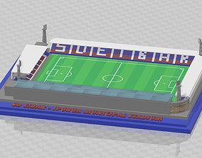 SD Eibar - Ipurua Municipal Stadium 3D printable model