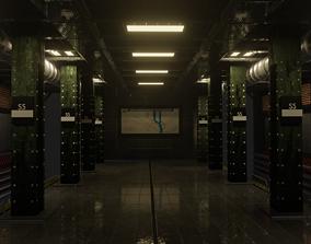 underground trainstation 3d model NEW YEAR SALE
