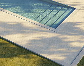 summer Swimming pool 3D