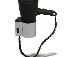 3D Bathroom Gadget Hairdryer