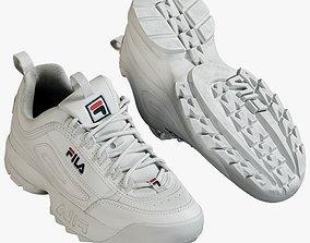 3D model Sneakers Fila