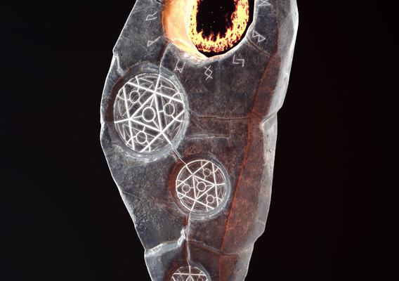 magical runestone