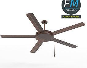 3D Wooden ceiling fan