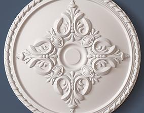 3D model decor Ceiling Medallion