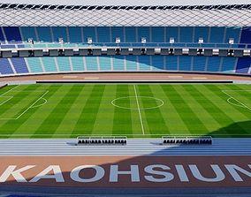 National Stadium Kaohsiung - Taiwan 3D model