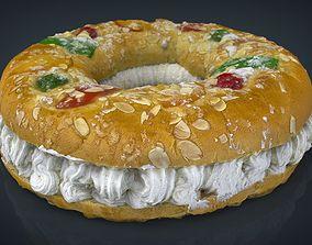 3D model Three kings cake