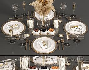 Table set 02 3D shaker