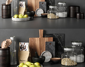 kitchen decor set 05 3D