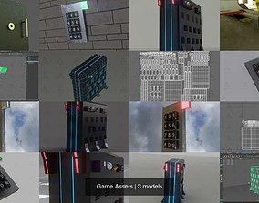Game Assets 3D model