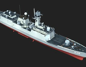 Chinese Navy Type 054A Jiangkai II Class Frigates 3D
