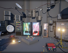 Industry Props Pack 5 3D asset