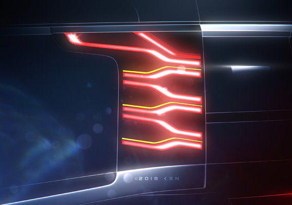 Range Rover Taillights Design Concept by K E N™