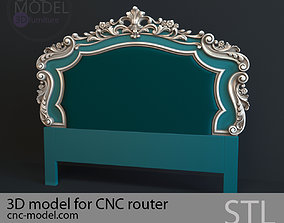 BED luxury for CNC router 3D