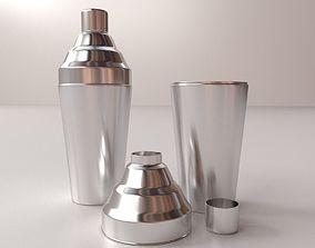 shaker Cocktail Shaker 3D