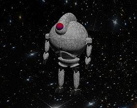Space robot 3D asset