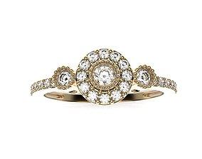3D printable model luxury Fancy Ring free
