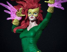 Jean Grey Marvel Girl version 3D printable model