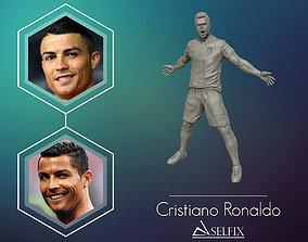 Christiano Ronaldo celebration juventus kit 3D print model
