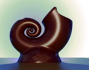 3D print model Snail Vase