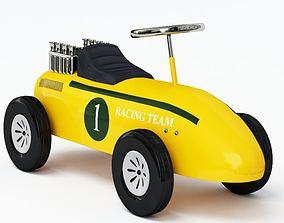 Children Pushcart Racecar 3D