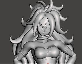 3D printable model Android 21 Majin Form - twenty One 4