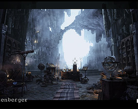 Merlins Cave Environment in Unreal Engine 3D asset