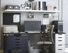 Office workplace 6 3D model