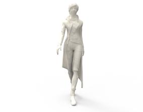 Spy Girl 3D print model