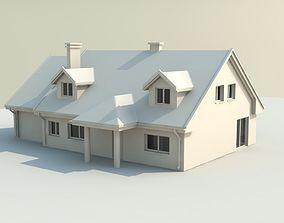 3D print model house