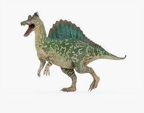 Spinosaurus Rigged 3D asset